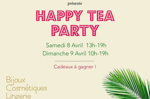 HAPPY TEA PARTY à L'Occidentale !